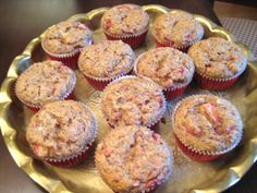These tasty muffins are very similar to the One Minute Muffin many low-carbers are familiar with, but these have a little almond flour as well. They remind me of a bran muffin, but the strawberrie...