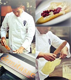 Chef Rob's Crepes Pop-Up at Cafe Demitasse, Little Tokyo, Los Angeles