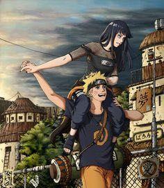 Naruto and Hinata NaruHina Naruto Shippuden Sasuke, Naruto Kakashi, Anime Naruto, Naruto Comic, Naruto Girls, Couple Naruto, Art Naruto, Wallpaper Naruto Shippuden, Naruto Cute
