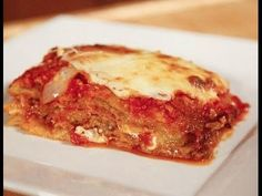 How to make a Classic Eggplant Parmigiana - Original Italian Recipes by Rossella and Nonna - YouTube