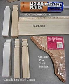 DIY Kitchen Makeover - Customizing Your Kitchen Cabinets with no miter molding and trim