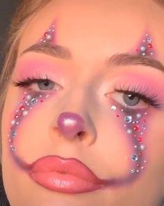 wedding makeup l, how to makeup natural, makeup geek cosmetics, makeup pallet… - Make Up Makeup Eye Looks, Crazy Makeup, Cute Makeup, Face Makeup Art, Glitter Face Makeup, Normal Makeup, Kawaii Makeup, 80s Makeup, Creative Makeup Looks