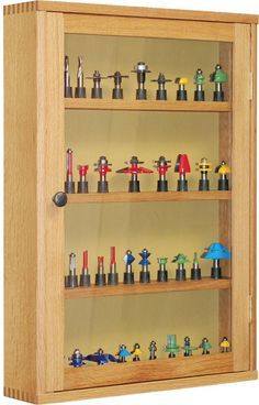 Router Bit Cabinet Plans - Router Tips, Jigs and Fixtures - Woodwork, Woodworking, Woodworking Plans, Woodworking Projects Woodworking Organization, Woodworking Joints, Woodworking Workbench, Woodworking Techniques, Woodworking Magazine, Woodworking Projects, Intarsia Woodworking, Woodworking Patterns, Woodworking Workshop