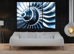 Aviation Wall Art dassault mystère iva india (stan hajek) | modern aircraft art