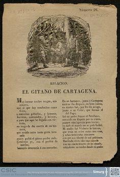 Relación el gitano de Cartagena