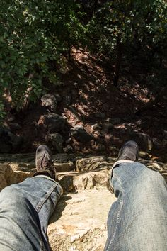 It's a long way down!