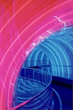 Remember the old ImageWorks in Journey Into Imagination in Epcot? I sure do miss this Rainbow Tunnel!  #Vintage #WDW #Eighties