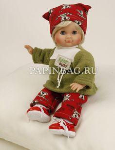 """Schildkroet Куклы игровые """"Любимицы"""", 32 см Немецкие куклы высочайшего качества от фабрики «Schildkrot-Puppen» (Германия). Все куклы традиционного немецкого качества «Schildkrot-Puppen» производятся в Германии (Тюрингия, г.Рауенштайн).  За всё время существования производство ни разу не покидало пределы страны.  http://papinbag.ru/?&m=2788&mode=all"""