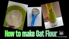 I made a video on how to make your own oat flour as a start for my YouTube channel. Go check it out and tell me what you think. Also what are your favorite healthy recipes that I can try out 😊 Healthy Cake Pops, How To Make Oats, Baking Videos, Make Your Own, Make It Yourself, Oat Flour, Banana Pancakes, The Creator, Channel
