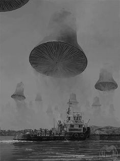 "Horror comics ""Initiation Into Nothingness"": A Separate Reality And Dreamy Otherworlds In Incredible Artworks By Alex Andreev Dark Fantasy Art, Sci Fi Fantasy, Arte Sci Fi, Sci Fi Art, Arte Horror, Horror Art, Horror Comics, Art Science Fiction, Sci Fi Kunst"