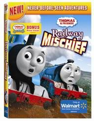 Thomas & Friends: Railway Mischief DVD