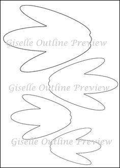 Flor gigante para imprimir plantillas - bricolaje papel gigante flores - flor plantillas PDF