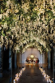 New garden wedding aisle decor altars Ideas Wedding Ceremony Ideas, Wedding Reception Music, Wedding Aisle Decorations, Wedding Stage, Wedding Entrance, Table Wedding, Reception Table, Star Wedding, Dream Wedding