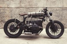 """BMW R65 Bobber - Tracker """"Mad Max"""" by Delux Motorcycles #motorcycles #bobber #motos   caferacerpasion.com"""