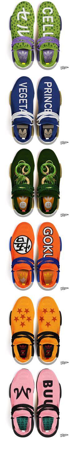 #Adidas #NMD #HU #DBZ