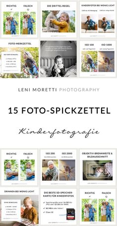 15 Photo cheat sheet for even more beautiful baby and children's photos - Children's Photography & Baby Photography Berlin Photography Courses, Photography Workshops, Children Photography, Family Photography, Photography Tips, Outdoor Photography, Taking Pictures, Baby Pictures, Cute Diy Crafts