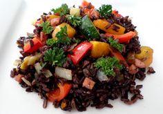 nasi beras hitam  #berashitam