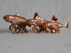 Miniature Copper Fish. by StoreFourandMore on Etsy