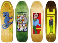 The New Deal Skateboards Ed Templeton Deck Collection