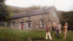 Led Zeppelin at Bron-Yr-Aur cottage
