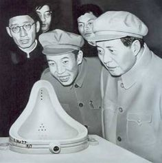 Mao Tsé Tung and Duchamp! Not in itself adequate evidence that taking the piss would be tolerated in Mao's China.