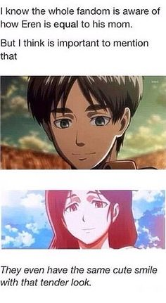 carla and eren smile - Google Search