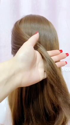 Hairdo For Long Hair, Bun Hairstyles For Long Hair, Easy Hairstyles For Weddings, Easy Updo Thin Hair, Simple Hair Updos, Simple Hairstyles For Long Hair, Easy Vintage Hairstyles, Step By Step Hairstyles, Natural Hair Updo