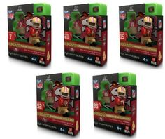 San Francisco 49ers Superbowl XLVII Complete Set of 5 OYO Building Figures by Oyo. $44.99. This listing is for a complete set of all 5 2013 Superbowl XLVII San Francisco 49ers figures including Colin Kaepernick, Frank Gore, Vernon Davis, Michael Crabtree and Patrick Willis.  OYO minifigures are building toys made for the sports fan in all of us. OYO Sportstoys are minifigures designed to resemble Major League Baseball players, and are new to the roster of officially license...