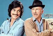 Chico and the Man 1974-1978. It stars Jack Albertson as Ed Brown, the cantankerous owner of a run down garage in an East Los Angeles barrio, and Freddie Prinze as Chico Rodriguez, an upbeat, optimistic Chicano young man who comes in looking for a job