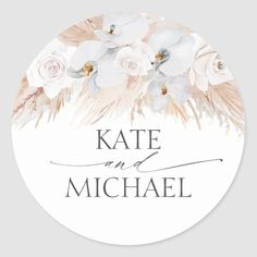 Classic Wedding Invitations, Bridal Shower Invitations, Wedding Stationery, Chic Bridal Showers, Wedding Favor Tags, Wedding Signs, Wedding Ideas, Wedding Stickers, White Orchids