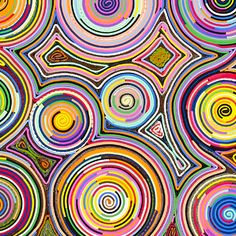 Brazil: Estudio Campana rolls mixed textiles into concentric circles before stretching them out to create cloth.