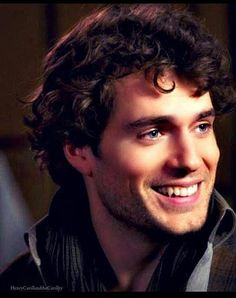 Henry Cavill... He's got beautiful all over his face.