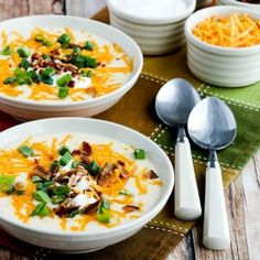 Need a quick and easy keto meal? Check out these 50 keto Instant Pot recipes! Here is 50 healthy, low carb, keto approved recipes that can all be made in your Instant Pot. Cauliflower Soup Recipes, Loaded Cauliflower, Cauliflower Tots, Keto Foods, Keto Meal, Brunch, Instant Pot, Low Carb Recipes, Low Carb Keto