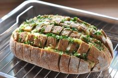 Cheese pluck bread - party bread with herbs and - brot - Picknick Party Finger Foods, Snacks Für Party, Party Games, Snacks To Make, Easy Snacks, Best Pancake Recipe, Grill Party, Gula, Pin On