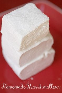 Simple Homemade Marshmallows Recipe