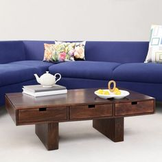 Elmwood Safford Coffee Table Wenge - Add oodles of style to your home with an exciting range of designer furniture, furnishings, decor items and kitchenware. We promise to deliver best quality products at best prices.