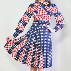Geometric Dress, $94, now featured on Fab.