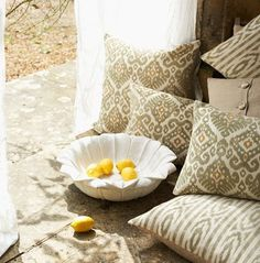 This sofa.com Samarkand pillow will add the perfect touch of Persian elegance to your own bit of paradise