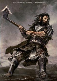 As artes conceituais para a trilogia O Hobbit ilustradas por Nick Keller
