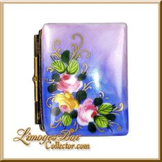 Book with Roses Limoges Box - Retired