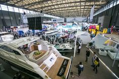 Numerous famous boat brands show their product in CIBS2017