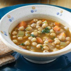 Weight Watchers Vegan Chickpea Soup (Serves four.... 3 points per serving)
