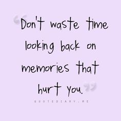 Don't waste time..