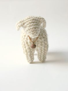 knitted toy or home decoration MISSIS SHEEP / ready by Patricija, $24.00