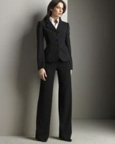 Interview outfits: what to wear during the interview casual …, … - business professional outfits for interview Women Business Attire, Business Dresses, Business Outfits, Business Fashion, Office Outfits, Office Wear, Casual Outfits, Business Professional Dress, Professional Wardrobe