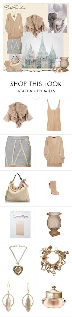 """Winter Wonderland"" by peachofatl ❤ liked on Polyvore featuring Haute Hippie, T By Alexander Wang, Thakoon, Gucci, J.Crew, Steve Madden, Calvin Klein, Tarina Tarantino, Disney Couture and Jeanine Payer"
