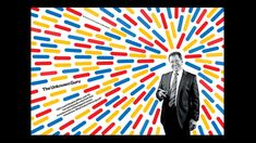 The Unknown Guru magazine layout from Bloomberg Businessweek combining photography and colourful illustration