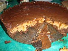 Torta crocante de chocolate