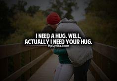Your hug <3