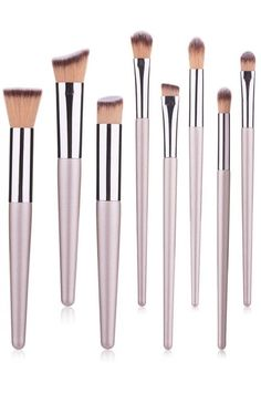 party makeup with Champagne gold makeup brush set Gold Makeup, Makeup Brush Set, Party Makeup, Brushes, Champagne, Golden Makeup, Set Of Makeup Brushes, Blushes, Makeover Party